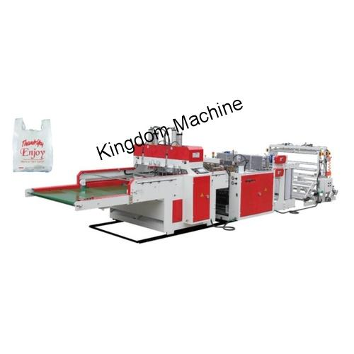 Machine de fabrication de sac bretelles haute vitesse