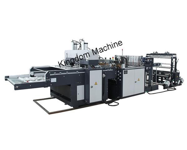 300X4 Machine à sac à bretelles à quatre lignes avec soufflet latéral
