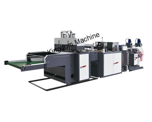 600X2 Machine automatique pour sacs à bretelles en plastique à deux lignes