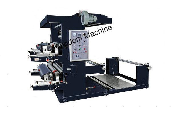 Four Colors Non-woven flexographic printing machine