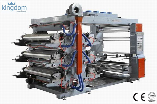 Enam Warna Mesin Flexo Printing